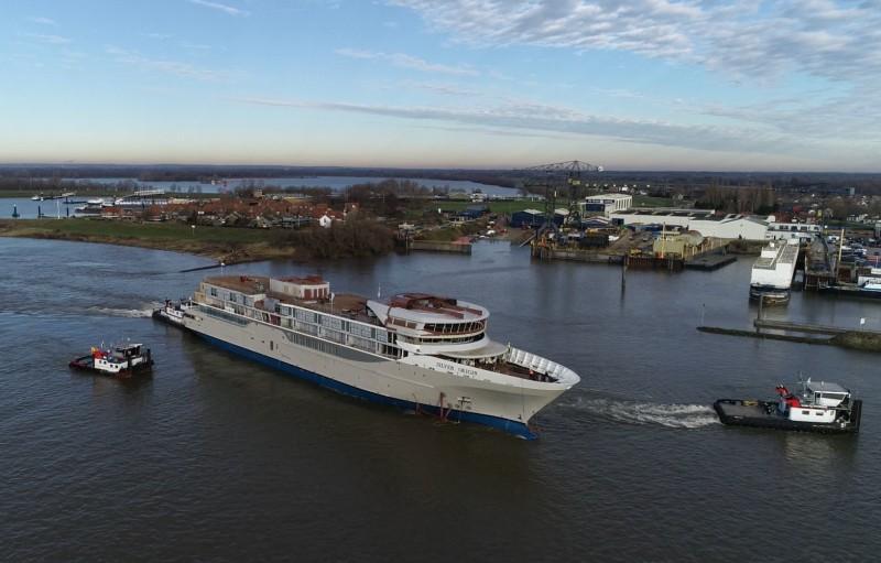 silversea barco Origin - El Silver Origin de Silversea sale del dique seco