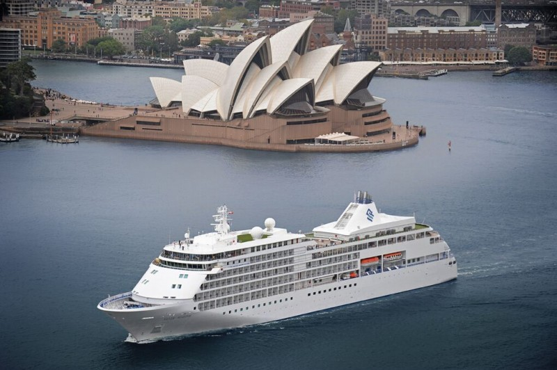 silversea crucero sidney opera - Huéspedes de Silversea embarcan en la primera Vuelta al Mundo a los 7 continentes