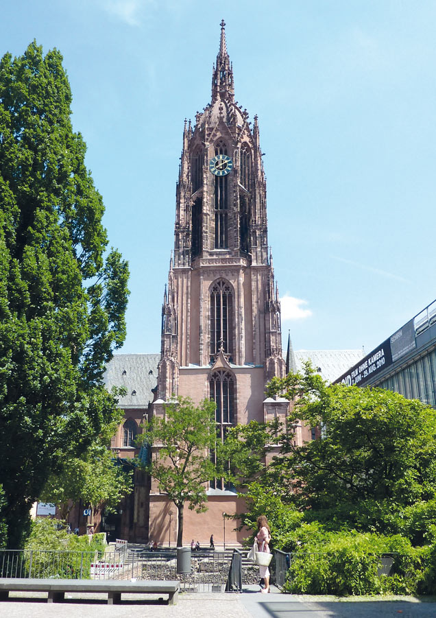 "Catedral de San Bartolomé Frankfurt - Fotos de: ""Recovecos únicos en Frankfurt"""