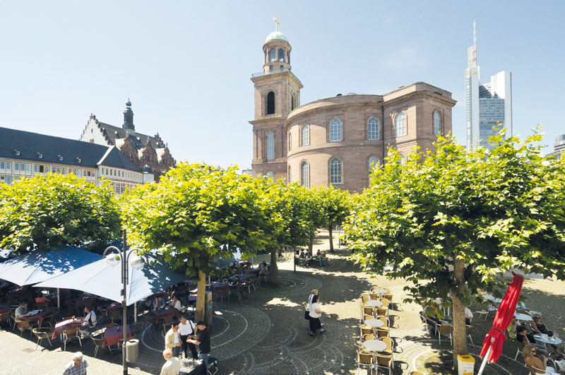 "Iglesia de San Pablo Paulskirche Frankfurt - Fotos de: ""Recovecos únicos en Frankfurt"""