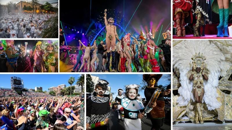 Montaje Semana Grande Carnaval c LPA - Érase una vez... Un fin de semana grande de Carnaval