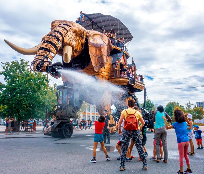"""Nantes máquina de la isla Francia - Fotos de: """"Francia: razones para visitarla"""""""