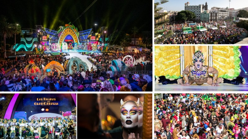 Palma Montaje NdP Cta atras Carnaval - Cuenta atrás para los grandes eventos del Carnaval de Las Palmas de Gran Canaria
