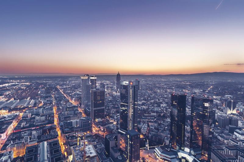 """Panorámica Frankfurt © David Schiersner - Fotos de: """"Recovecos únicos en Frankfurt"""""""