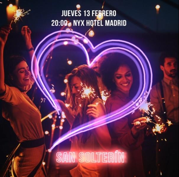 "Poster NYX Hotel Madrid San Solterín - Enamórate en ""San Solterín"" con NYX Hotel Madrid"
