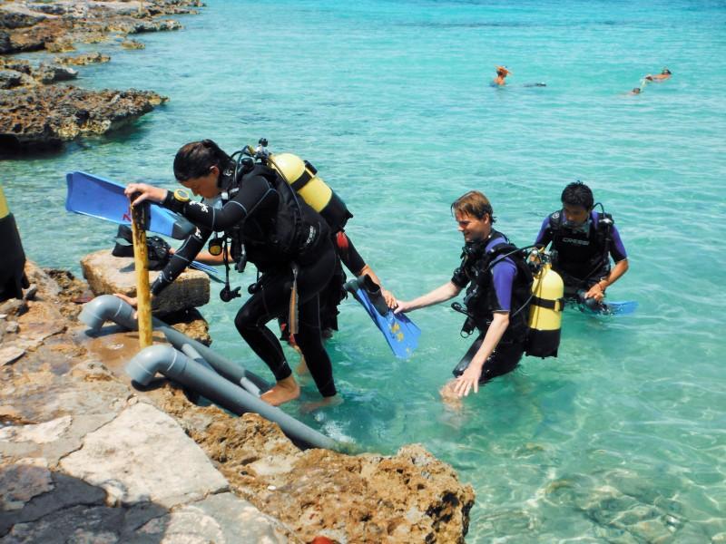 Punta Perdiz.Roberto F. Campos buzos - Varadero,  una playa con múltiples encantos