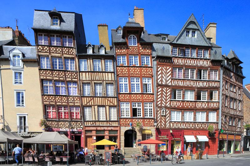"""Rennes Pans De Bois Francia ©JulienMignot - Fotos de: """"Francia: razones para visitarla"""""""