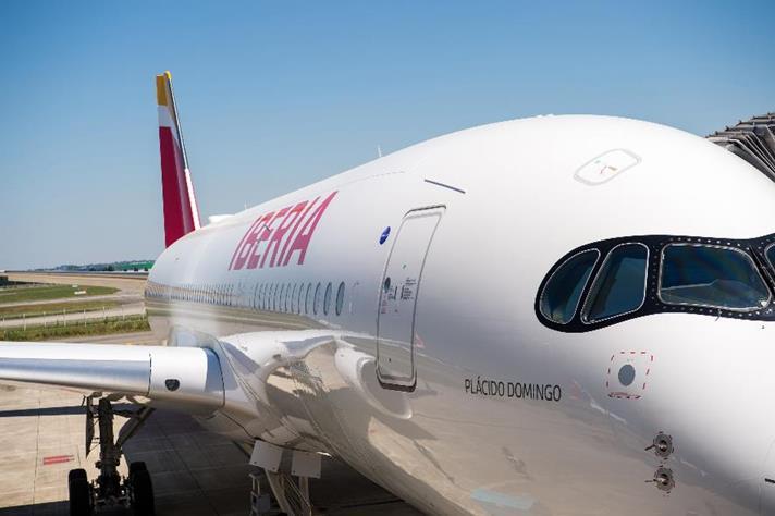 iberia avion - Prolonga Iberia la cancelación de vuelos a China