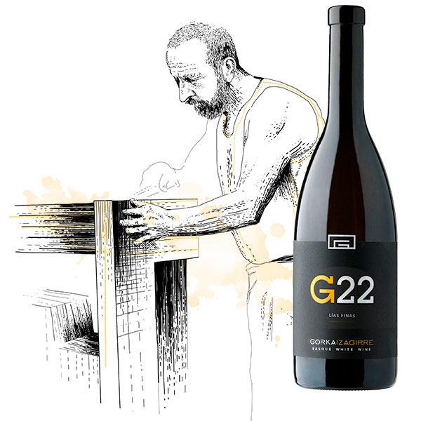 """Bodega de Gorka Izaguirre © Eneko Atxa G22 txakoli g22 600x600 vino txakoli - Fotos de: """"Txakolí, del caserío al mundo"""""""