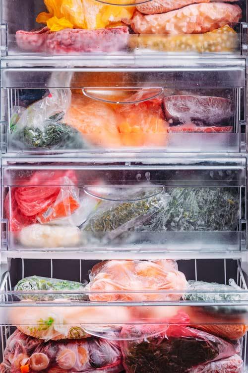 Congelador Alimentos congelados - La ayuda de los electrodomésticos en la cuarentena del Covid-19