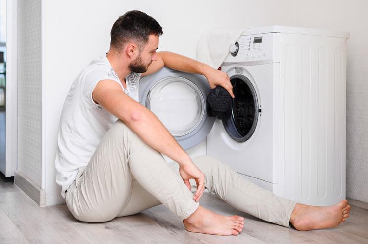 Modelo Lavadora - La ayuda de los electrodomésticos en la cuarentena del Covid-19