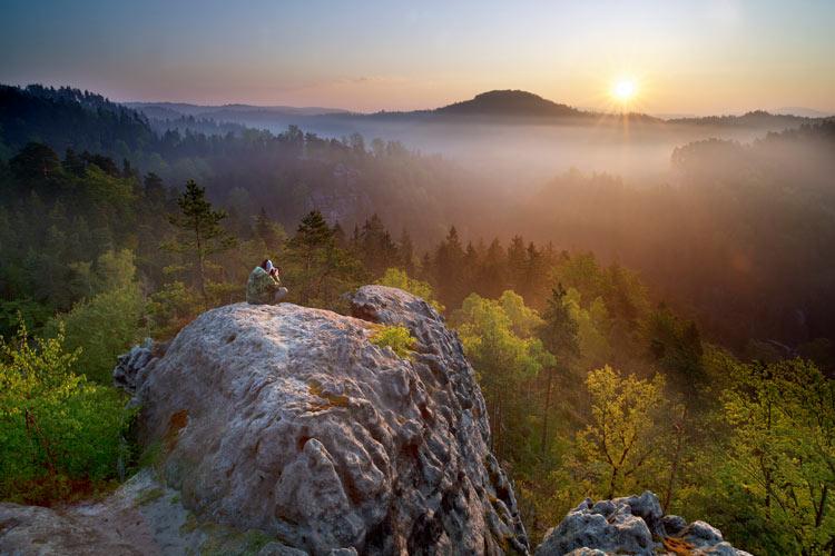 Parque Natural Suiza de Bohemia República Checa @Vaclav Sojka - Cómo viajar a Chequia desde el sofá con libros y películas