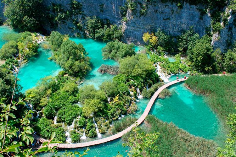 Plitvice Croacia - ¿A dónde te gustaría viajar después de la crisis?