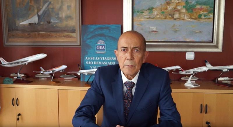Prisciliano Fernández Presidente Grupo Gea - Grupo Gea ofrece aplazar las cuotas a las agencias