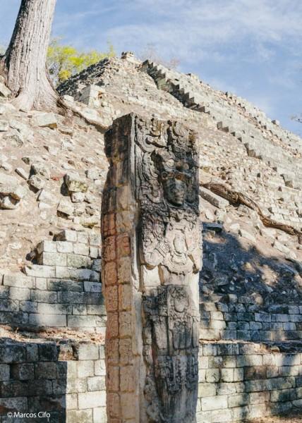 Ruinas mayas Honduras Centroamérica © Marcos Cifo - Centroamérica,  un lugar para sentirse vivo