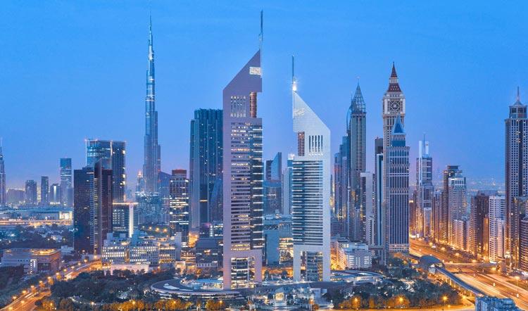 Skyline Dubái - Viaja a Dubái sin mover un dedo, desde el sofá