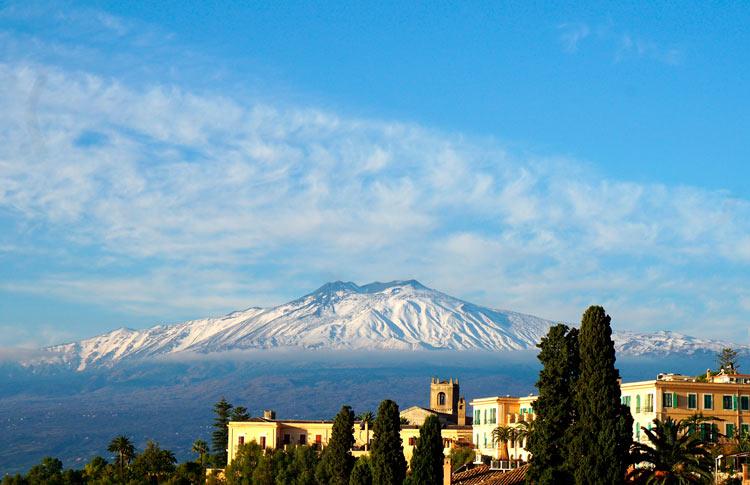Volcán monte Etna Sicilia Italia - ¿A dónde te gustaría viajar después de la crisis?