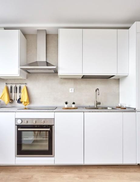 cocina horno estantes  - 7 problemas de limpieza que puedes solucionar con sal
