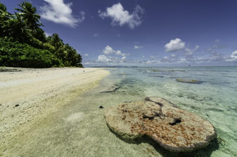 nam madol playa  - Nam Madol; El secreto de los Pohnpeian