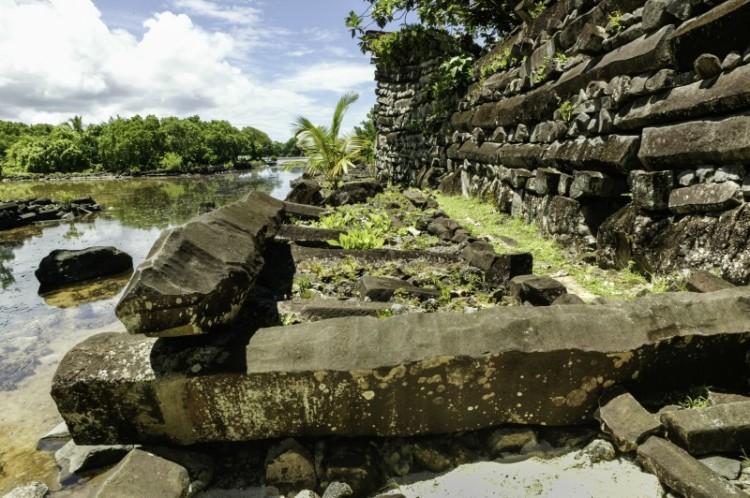 nam madol rio muro - Nam Madol; El secreto de los Pohnpeian