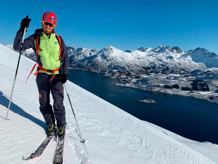 """Pepín Román Noruega © Jordi Marques - Entrevista Pepin Roman seguridad Montaña """"muchos iremos a la montaña tras el confinamiento"""""""
