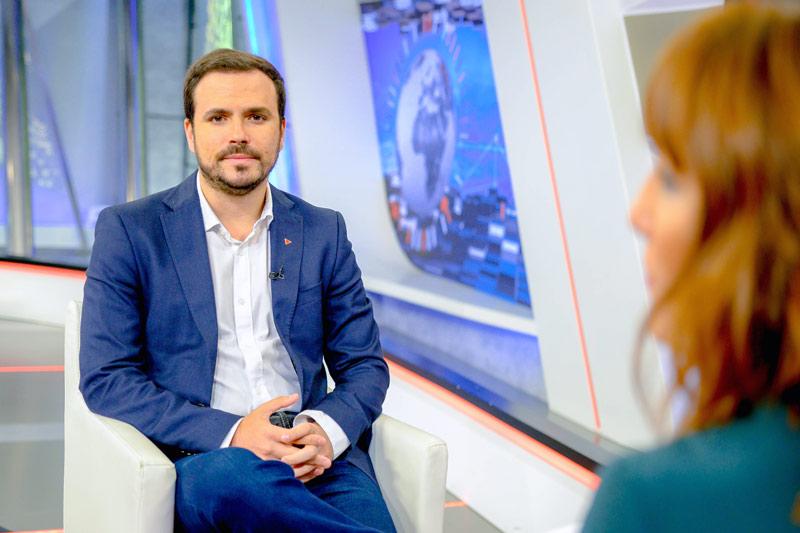 Alberto Garzón Ministro de Consumo 2020 © Fotos RTVA - Indignación en la mesa del turismo por el nuevo desprecio al sector del ministro Garzón