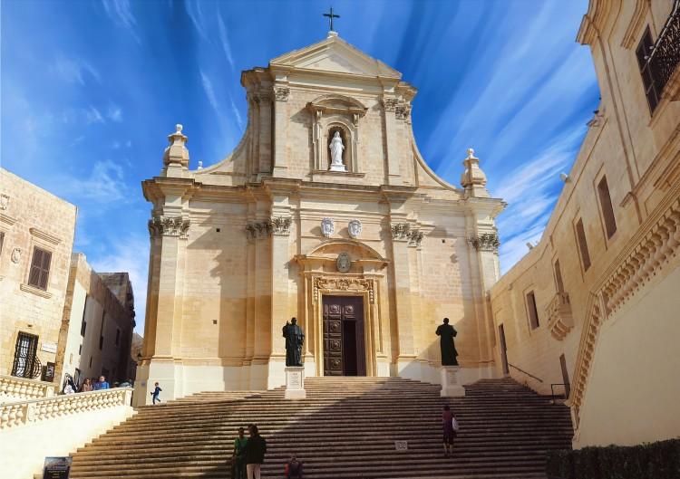 Catedral de la Asuncion Gozo Malta © Reuben Farrugia - Malta, entre templos terrenales y paraísos submarinos