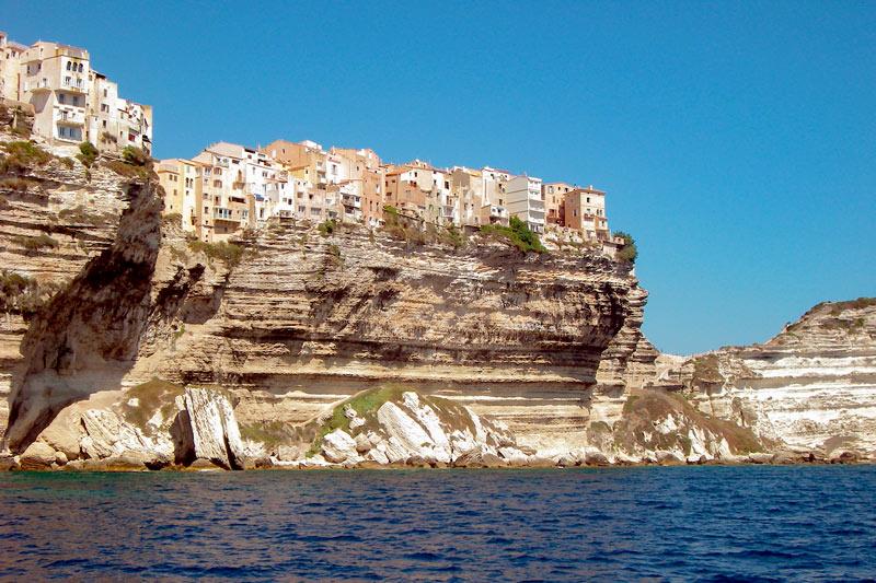 Córcega Francia bonifacio acantilado - Córcega, la isla de la belleza