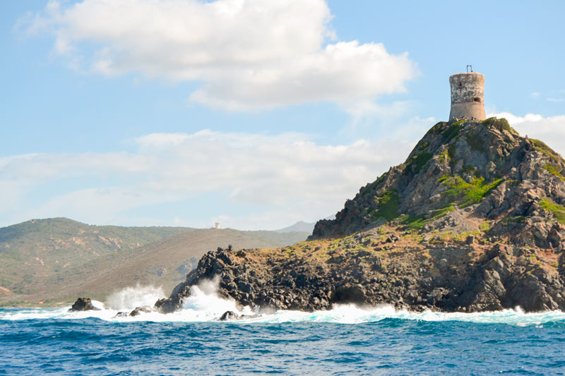 Córcega Francia islas Sanguinarias costa mar - Córcega, la isla de la belleza