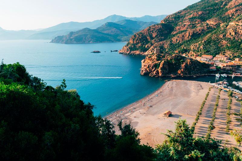 Córcega Francia playa costa - Córcega, la isla de la belleza