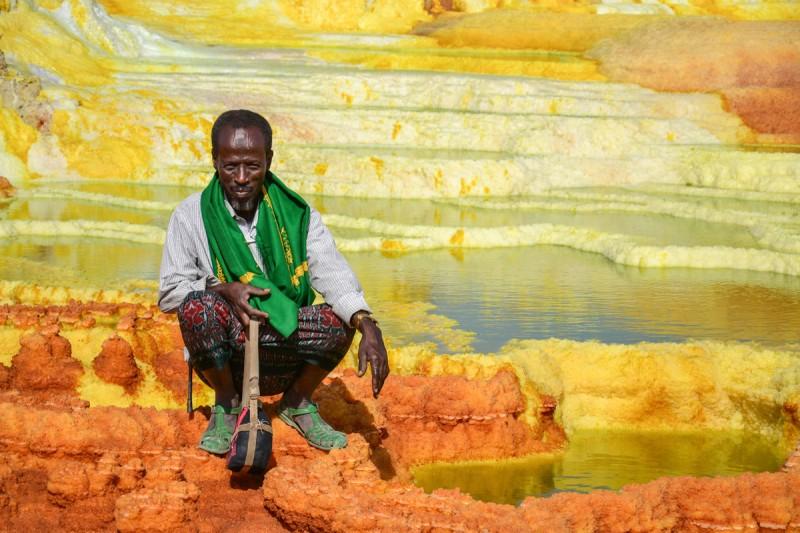 Etiopia Danakil © Annerose Mehnert 1 - Depresión del Danakil Etiopía