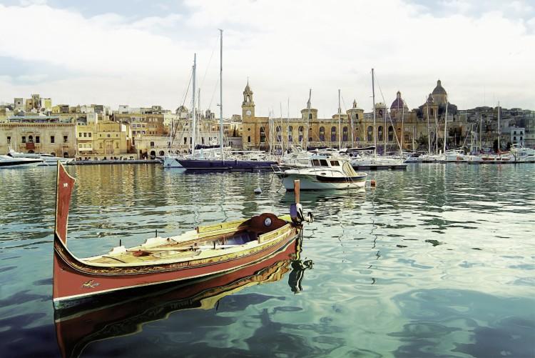 malta Birgu yacht marina - Malta, entre templos terrenales y paraísos submarinos
