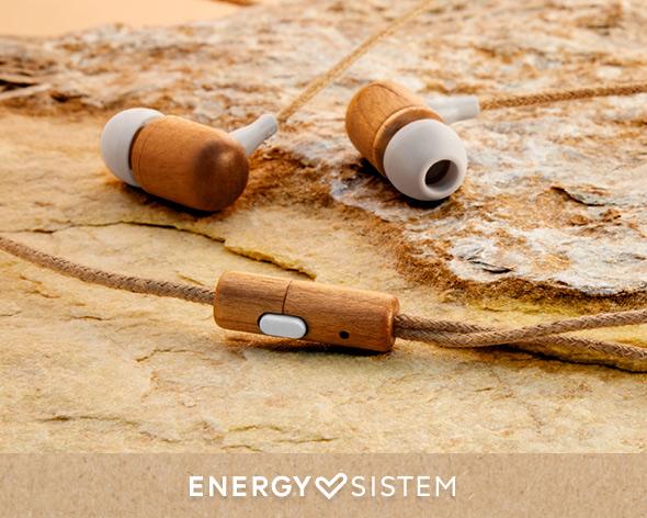 Energy Sistem ECO Cherry 2 - Energy Sistem da la bienvenida a la música sostenible con su nueva gama Eco Audio