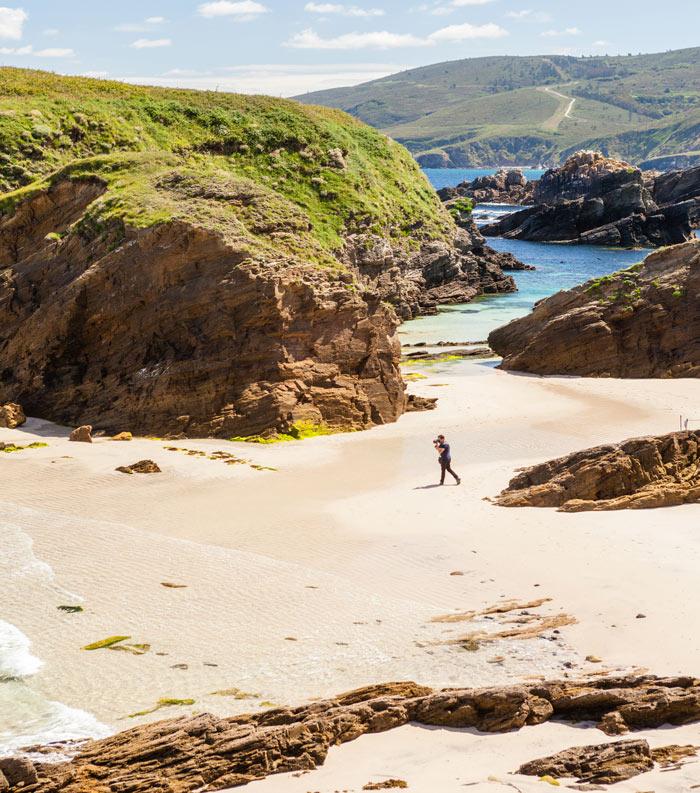Playas de Ferrol Galicia España © Victor Estevez Gomez - Recorrido playero para este verano, en Ferrol