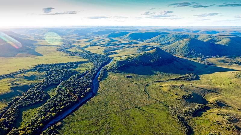 Valle de Lunarejo Uruguay © Marcelo Campi - El ecoturismo, un reclamo esencial de Uruguay