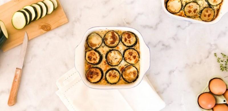 calabacines gratinados - Deliciosos calabacines gratinados