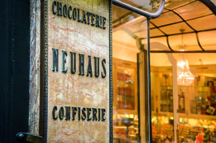 Bruselas Chocolatería NeuhausVisitFlanders - Bélgica: Bruselas; La capital del chocolate