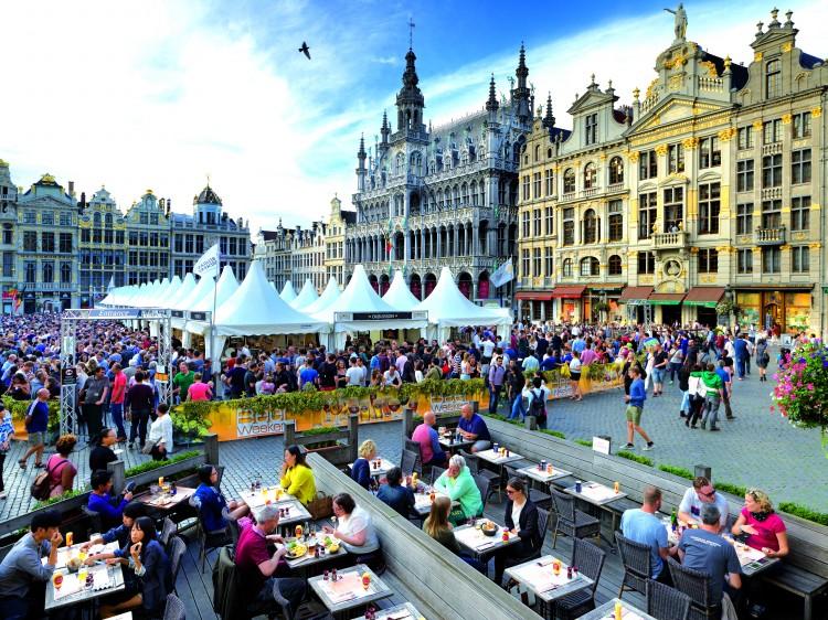 Bruselas Semana de la cerveza belga © Milo ProfiVisitFlanders - Bélgica: Bruselas; La capital del chocolate