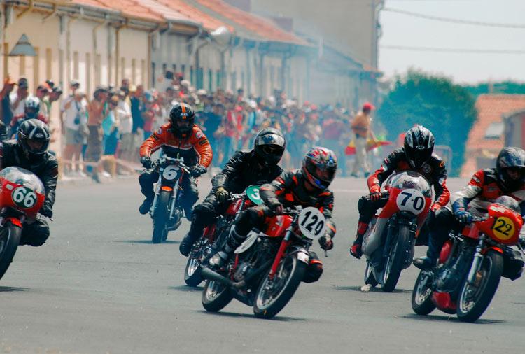 Carrera de motos de la Bañeza León Ruta Vía de la Plata - Redescubriendo la Ruta Vía de la Plata