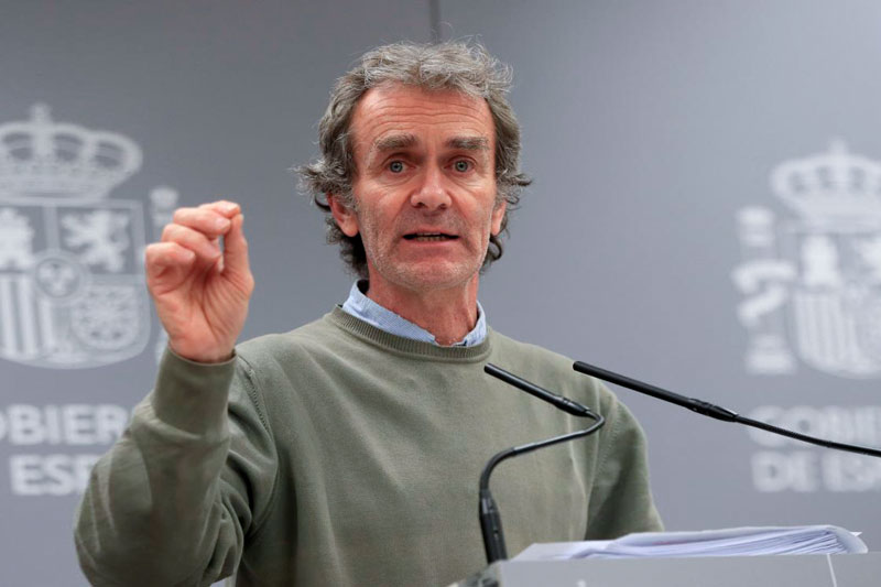 Fernando Simon © Patria De Todos - La Mesa de Turismo pide la dimisión inmediata de Fernando Simón