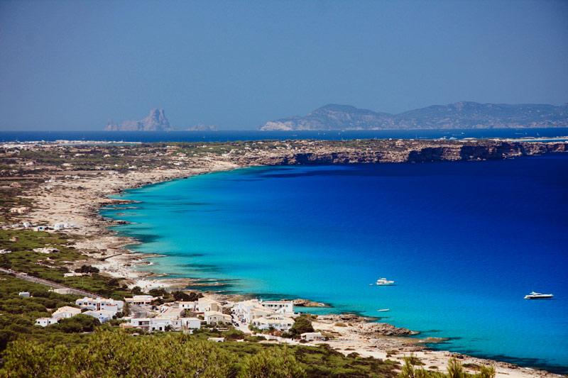Mirador curva Moonkoala Formentera - Ruta de vinos... por Formentera