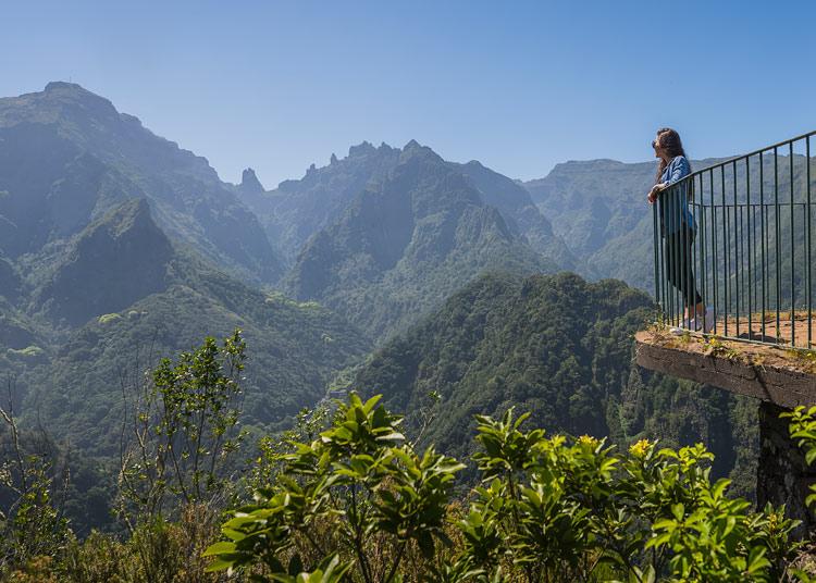 Vereda dos Balcoes Madeira Portugal ©Francisco Correia - Madeira, finalista en los World Travel Awards