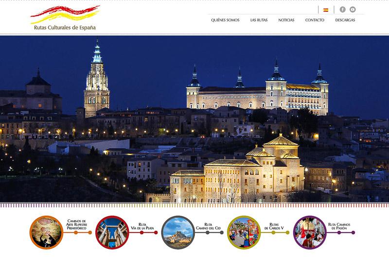 Web Rutas Culturales de España - 'Rutas Culturales de España' presenta su nueva web