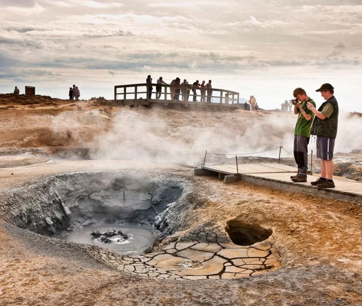 crater Aguas Termales de Námaskarð Norte de Islandia - Norte de Islandia,  8 planes de energía, magia y tranquilidad