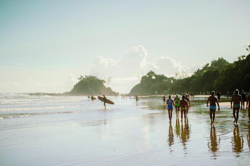 surfers Byron Bay Australia © Delphine Ducaruge - Paraíso del surf, BYRON BAY