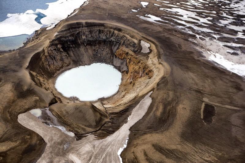 volcan Caldera Askja Norte de Islandia - Norte de Islandia,  8 planes de energía, magia y tranquilidad