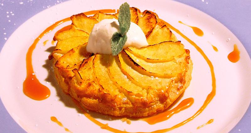 Tartaleta de manzana de Armagh Irlanda - Tartaletas de manzana de Armagh con salsa de caramelo