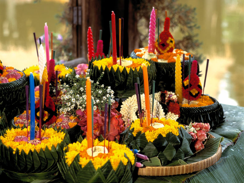 Tailandia Loi Krathong