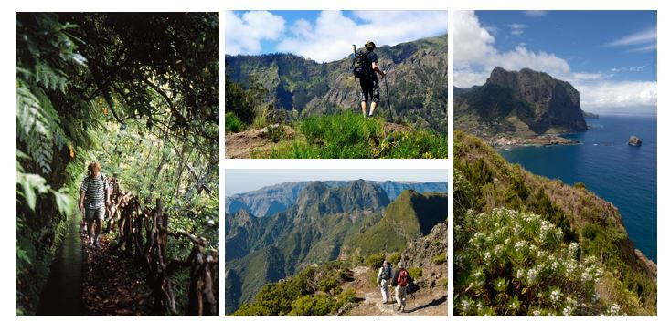 Madeira senderismo